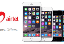 airtel iphone Offer