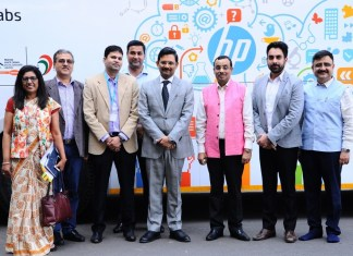 EDII, HP WOW Bus Launch