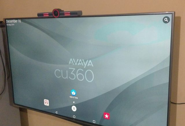 Avaya CU360 home