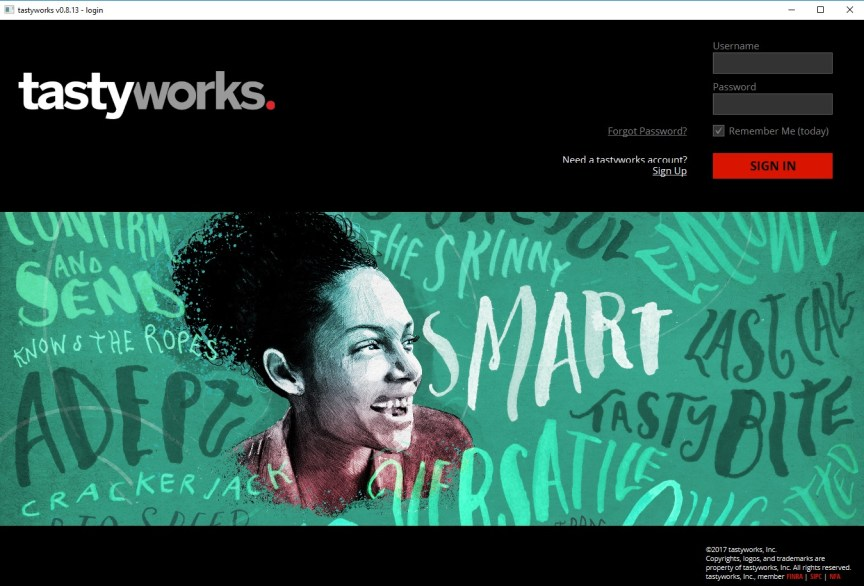 tastyworks login