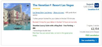 price booking a hotel in the uk with a vpn