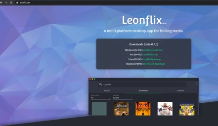 Leonflix Website