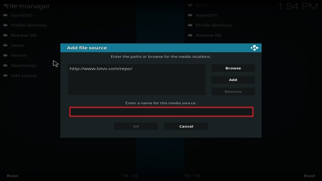Step 11 Installing Yoda on Kodi