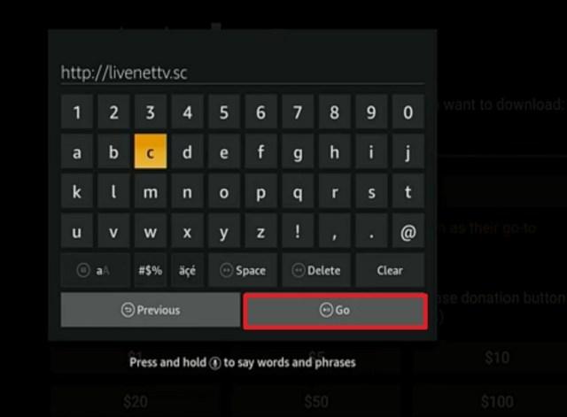Step 12 Install Live NetTV on Firestick