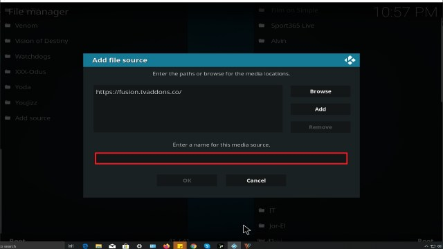 Step 11 Installing Video Devil Kodi addon on Kodi