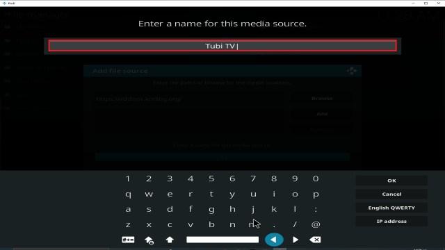 Step 12 Installing Tubi TV addon on Kodi