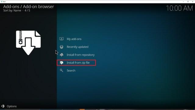 Step 16 Installing YouPorn addon on Kodi