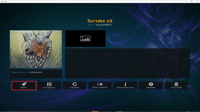 Step 27 Installing Scrubs V2 addon on Kodi