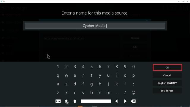 Step 13 Installing Cypher Media Kodi addon on Kodi