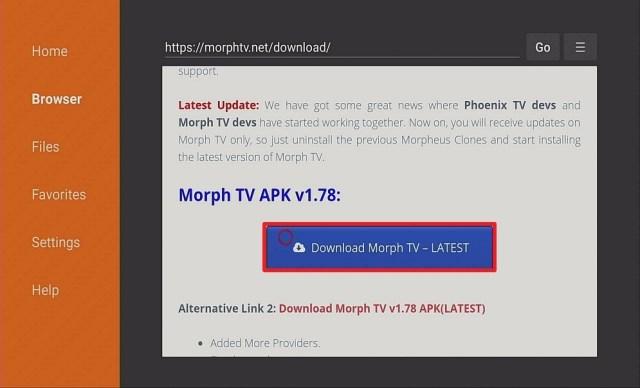 Step 13 Install Morph TV IPTV on Firestick