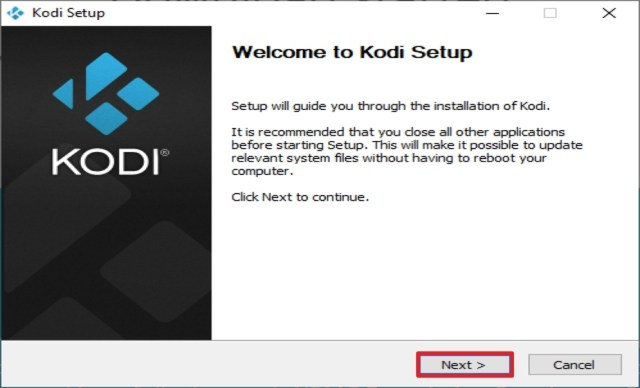 Step 5 Install Kodi from the Official Website