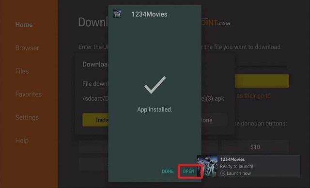 Step 14 Install 1234Movies on Firestick