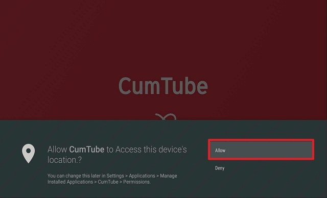 Step 15 Install Cumtube APK on Firestick