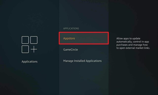 Step 3 Auto update apps on firestick
