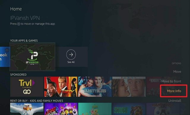 Step 4 Manual update of apps on firestick