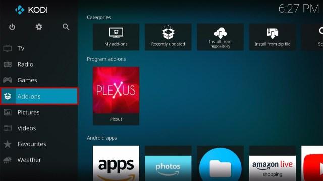 Step 22 How to Install Plexus Kodi Addon