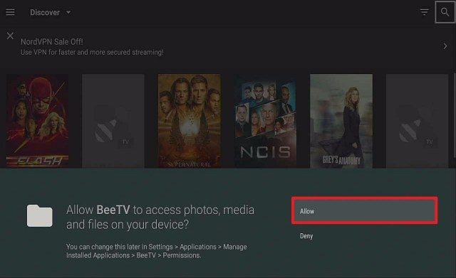 Step 15 Install bee tv