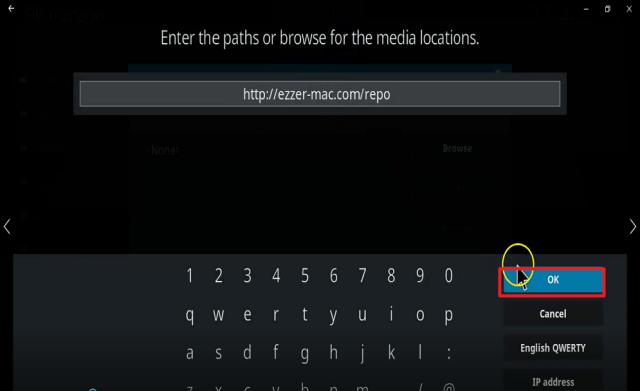 Step 10 Install Athena kodi addon