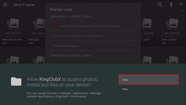 Step 15 Install KingClubX on Firestick