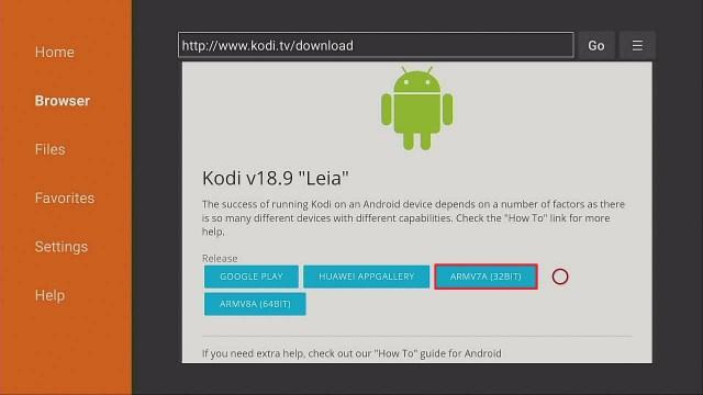 Step 4 Install Kodi
