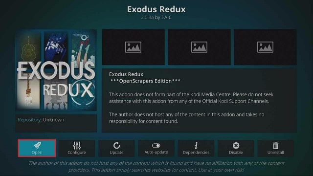 Step 27 Install Exodus Redux