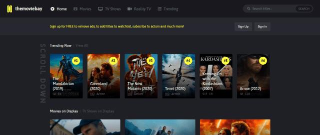 Movie Bay Screenshot