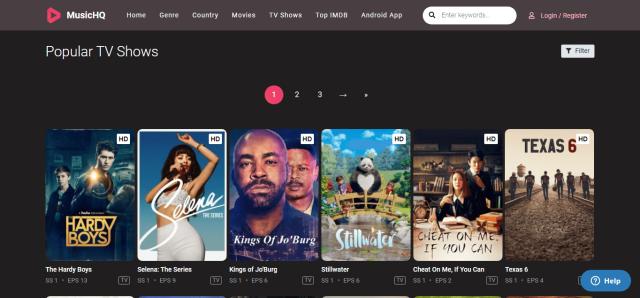 Music HQ Screenshot