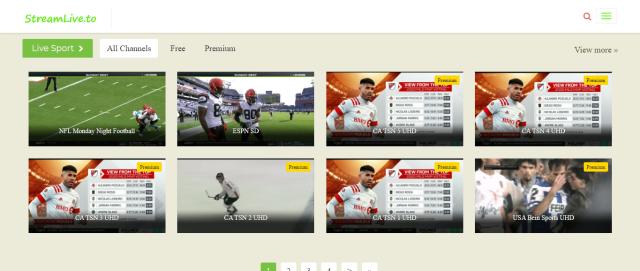 StreamLive Screenshot