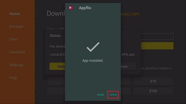 Step 14 Install Applix on Firestick