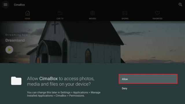 Install Cimabox4