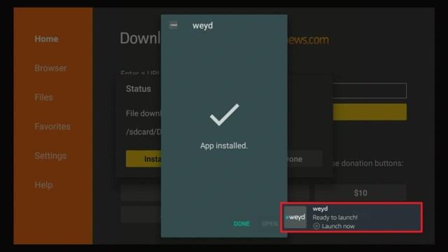 Install Weyd APK Guide 2