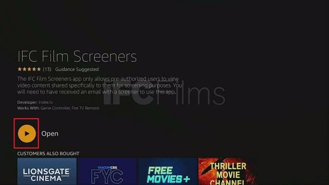 Step 5 Install IFC Film Screeners On Firestick
