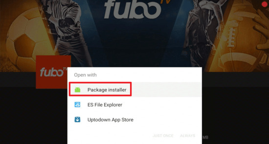 Install Fubo TV on your Fire TV Stick 24