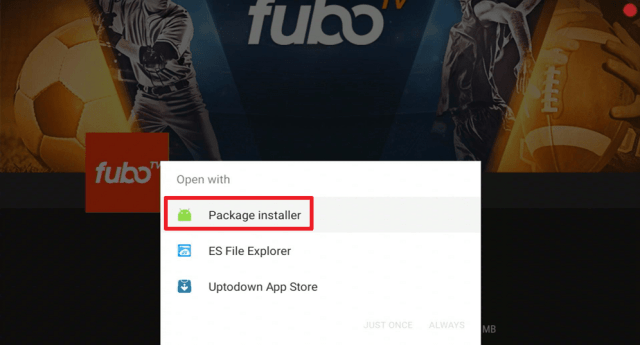 Install the FuboTV App on Firestick 22