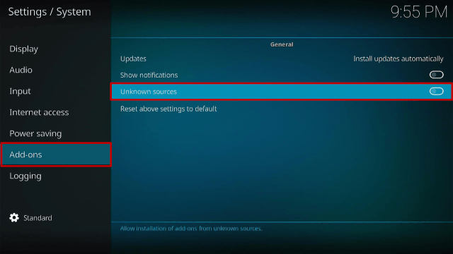 Step 4 How To Install HBO MAX Kodi Addon