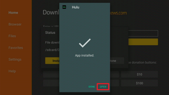 Install the Hulu App on your Fire TV Stick 17