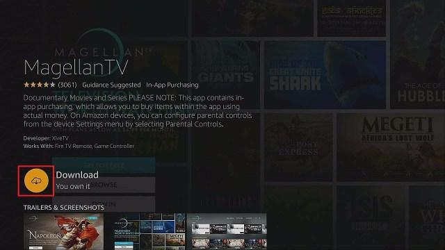 Step 4 Install Magellan TV App On Firestick