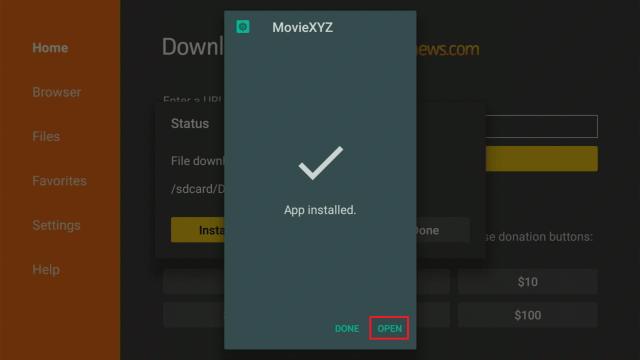 Install MovieXYZ 2