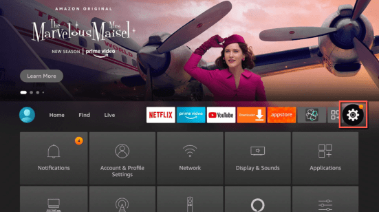 Install the ProgoTV app on your Firestick 1