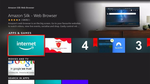 How to Watch Skorlive.com on Firestick Device Step 3b