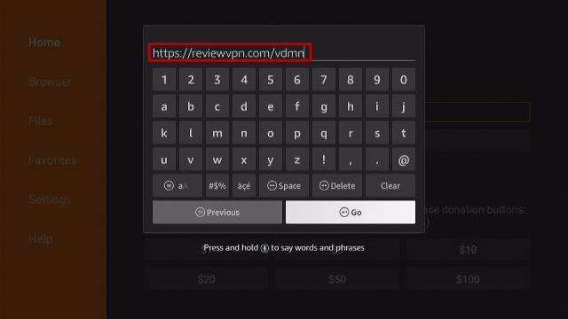 Install Vidman TV App on Firestick Step 14