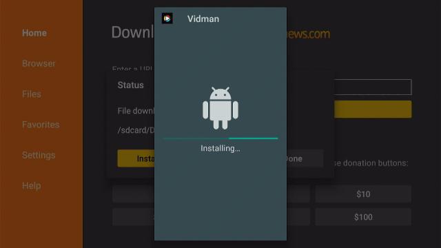 Install Vidman TV App on Firestick Step 17
