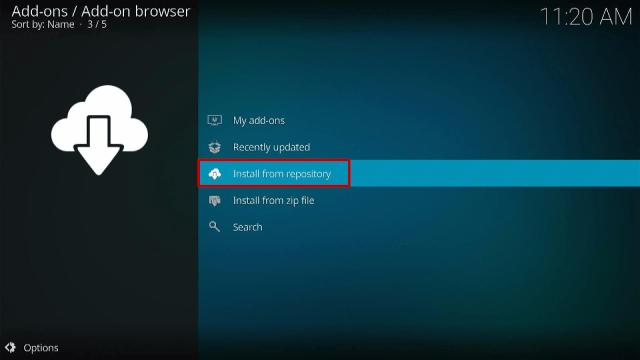 Step 15 Install Diggz Xenon Kodi Build