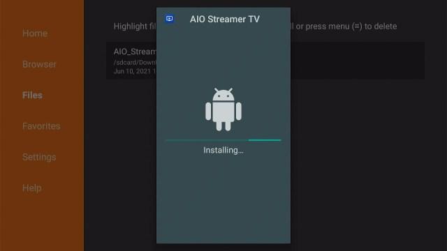 Step 17 Install AIO Streamer TV on Firestick