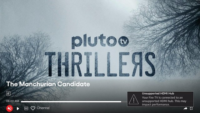 Stream the Pluto TV Website on your Fire TV Stick step 14
