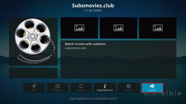 Install Subs Movies.club Kodi Addon 19