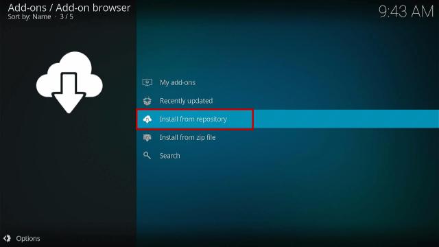 Install the XUMO TV Kodi Addon Step 3