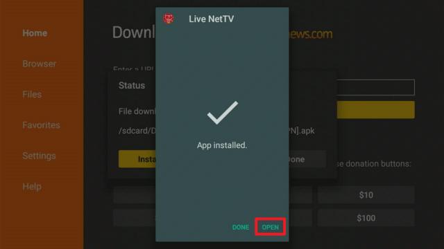 Install Live NetTV on a Firestick 16