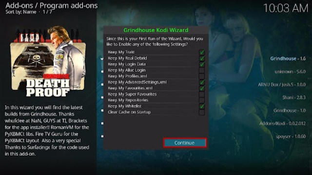 Install Decades Kodi Build 21