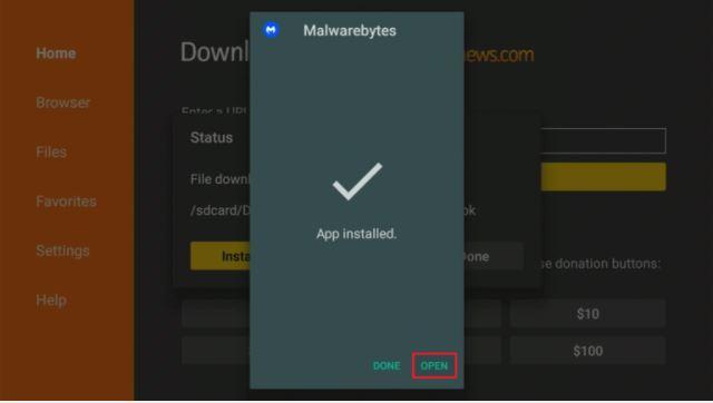 Malwarebytes Firestick 3